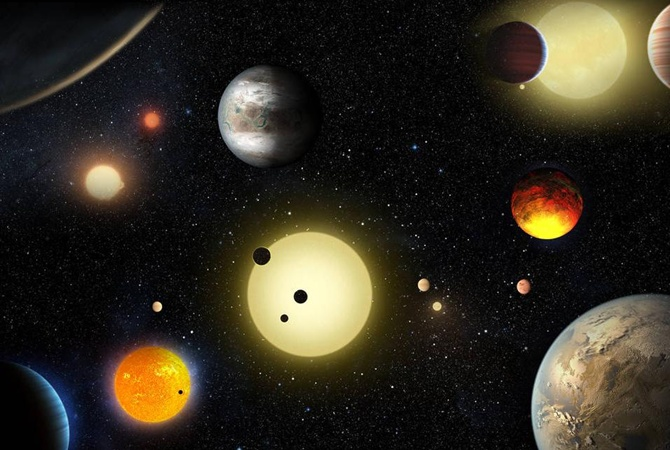 «Кеплер» отыскал 9 планет, накоторых может зародиться жизнь