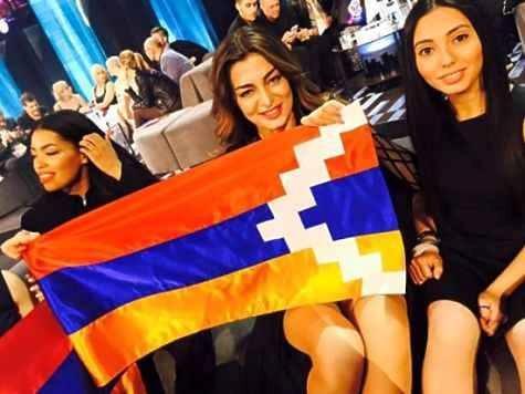 Армению могут дисквалифицировать с«Евровидения» зафлаг Нагорного Карабаха