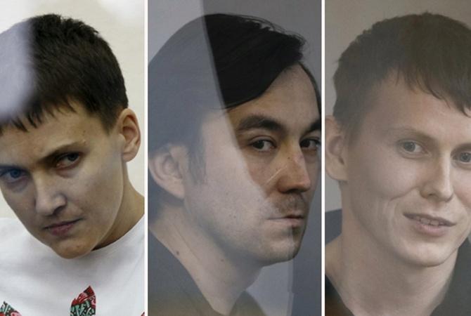 Порошенко помиловал осужденных вгосударстве Украина граждан России. Ихобменяют наНадежду Савченко
