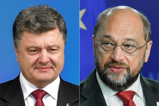 Президент Европарламента обещает ускорить безвизовый режим для государства Украины