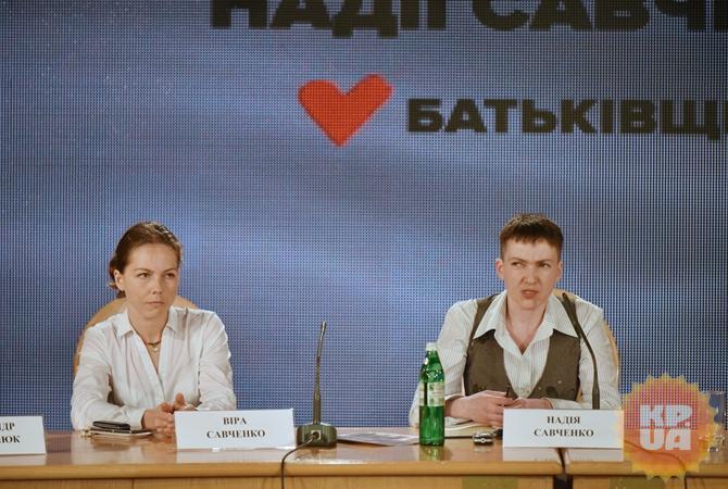 Савченко готова напереговоры счертом для освобождения украинцев из русского плена