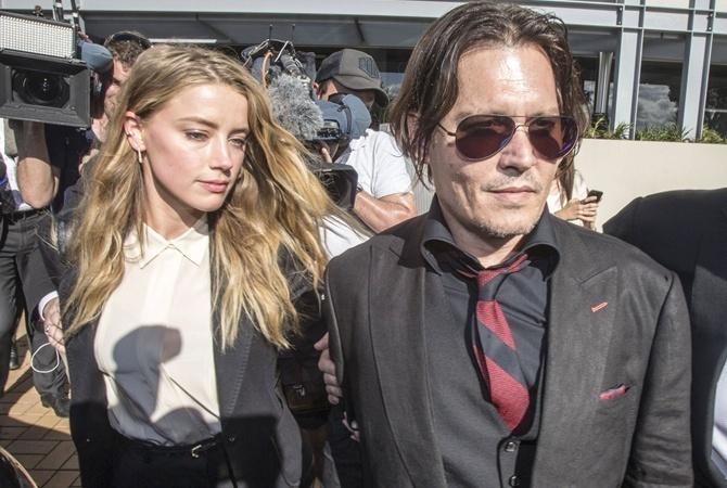 Эмбер Херд обвинила Джонни Деппа в домашнем насилии