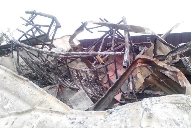 Под Броварами при пожаре погибли 7 человек, участь 10 неведома
