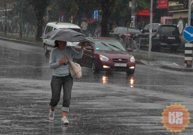 Погода вгосударстве Украина 31мая: дожди сгрозой