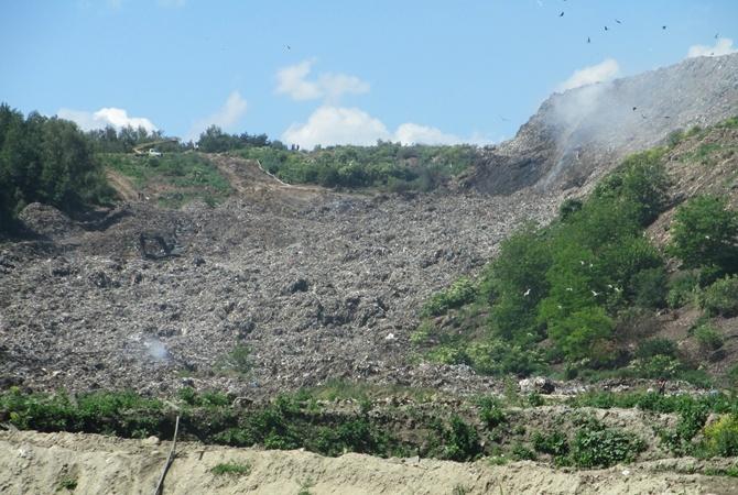 Cотрудники экстренных служб устранили пожар наГрибовичской свалке
