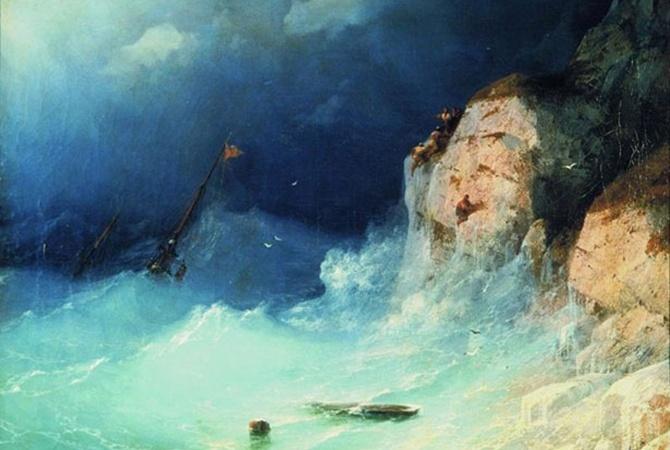 ВМинкульте Украины пояснили, какую именно картину Айвазовского продали встолице Англии
