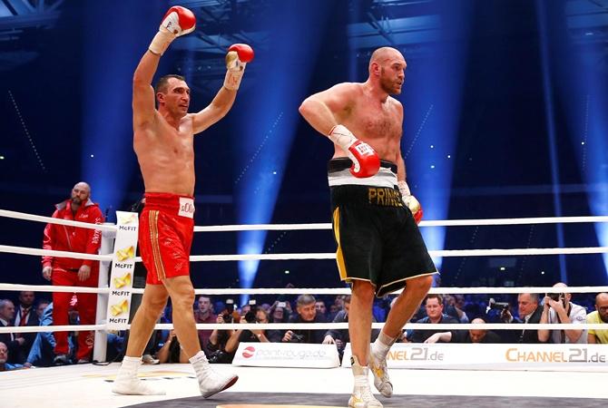 Владимир Кличко начал 2-ой подготовительный этап кбою с Т.Фьюри