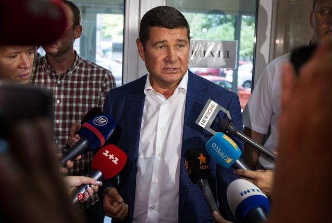 Народный депутат Онищенко не вгосударстве Украина