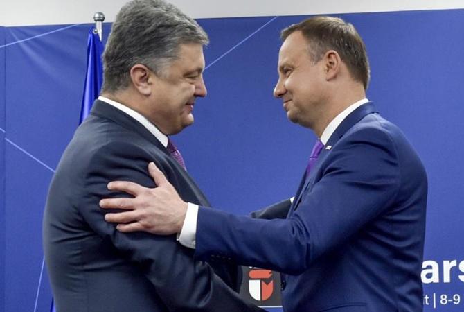 Порошенко пригласил Дуду отпраздновать День независимости Украины