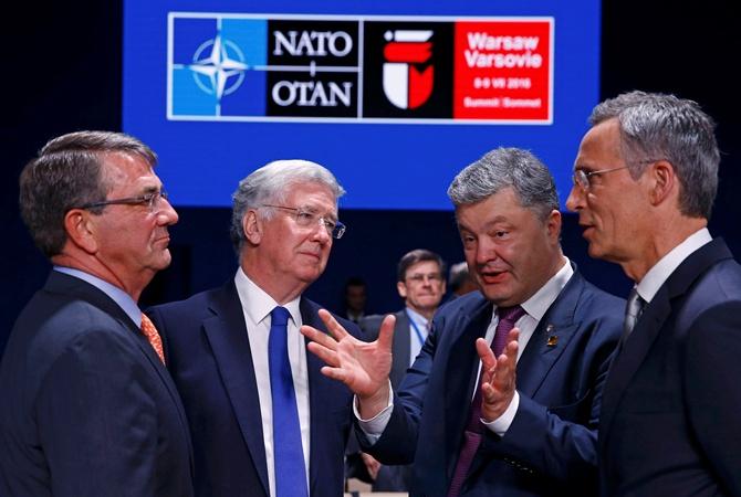 Впроцессе саммита НАТО спецслужбы перехватили над Варшавой 4 беспилотника