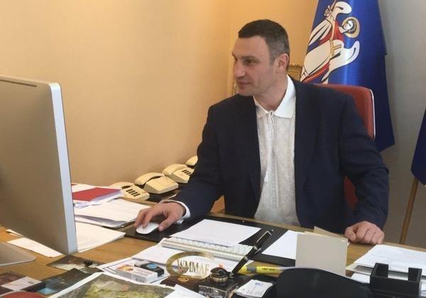 Кличко написал объявление овыходе изБПП