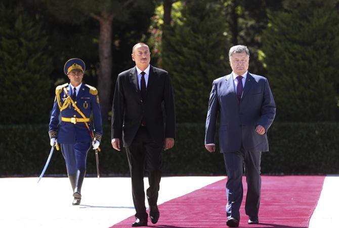 Порошенко: Украина признает Нагорный Карабах частью Азербайджана