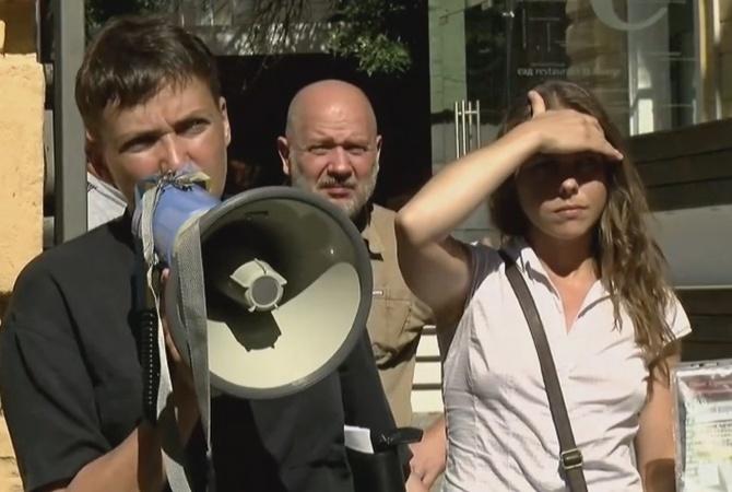 Савченко раскрыла, что дает возможность себе употреблять впроцессе голодовки