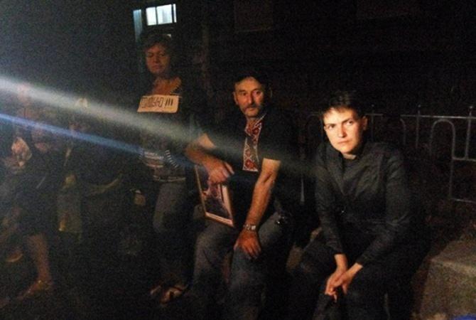Савченко ночует уадминистрации президента государства Украины