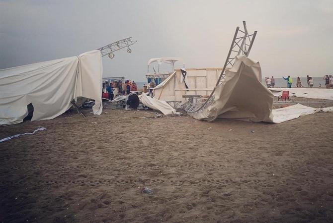 ВСанэпидемслужбе сообщили осбросе нечистот вЧерное море— Стихия вОдессе