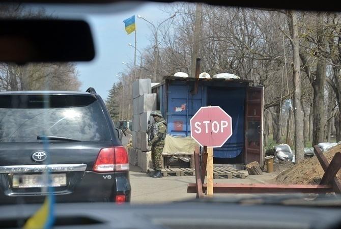 Наблокпосту схвачен рабочий прокуратуры споддельными документами