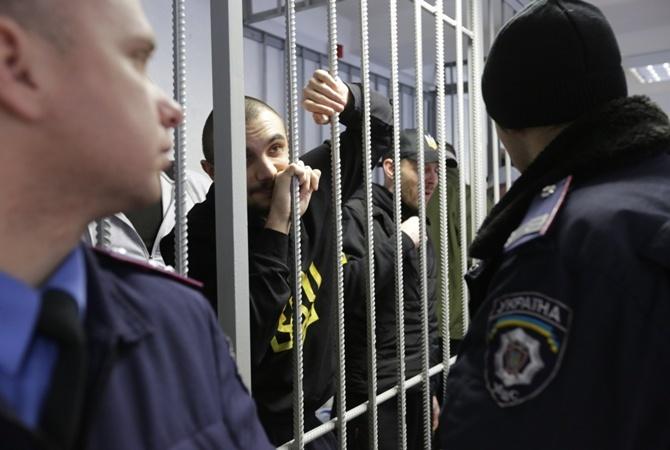 Суд украинской столицы перенёс рассмотрение дела бойцов «Торнадо», обвиняемых впытках