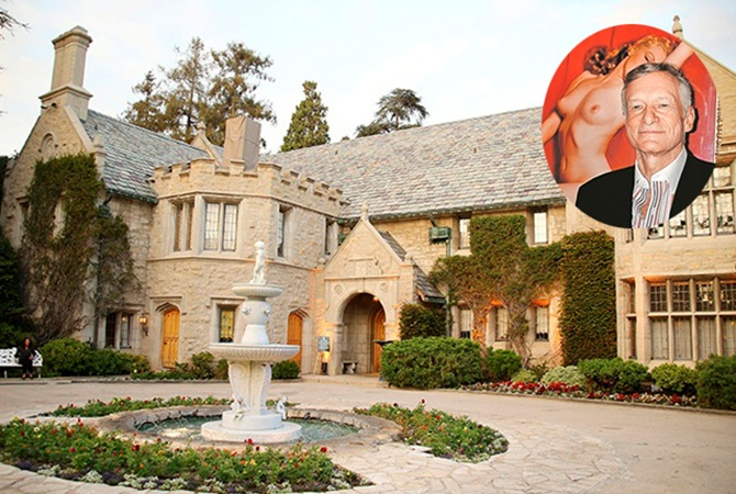 Дом вечеринок Playboy продали за $100 млн