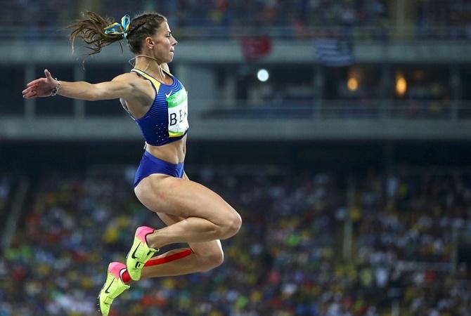 Бех пробилась вфинал прыжка вдлину