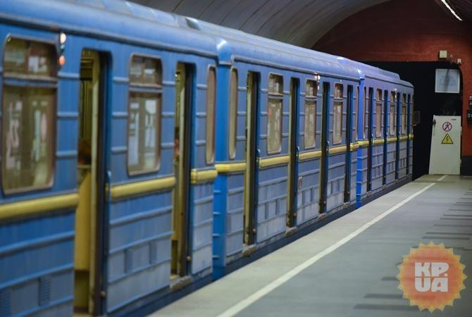 Завтра вкиевском метро могут ограничить вход натри станции