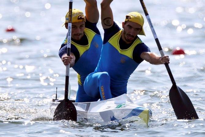 Украинские гребцы завоевали бронзу в Рио Фото ФБ Жданова