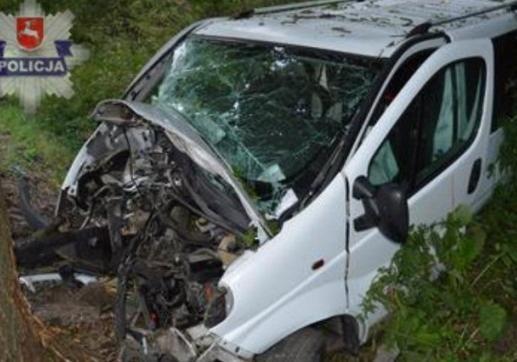 Очередной украинский автобус попал всмертельное ДТП вПольше