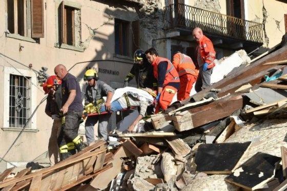 Количество жертв землетрясения вИталии выросло до 247