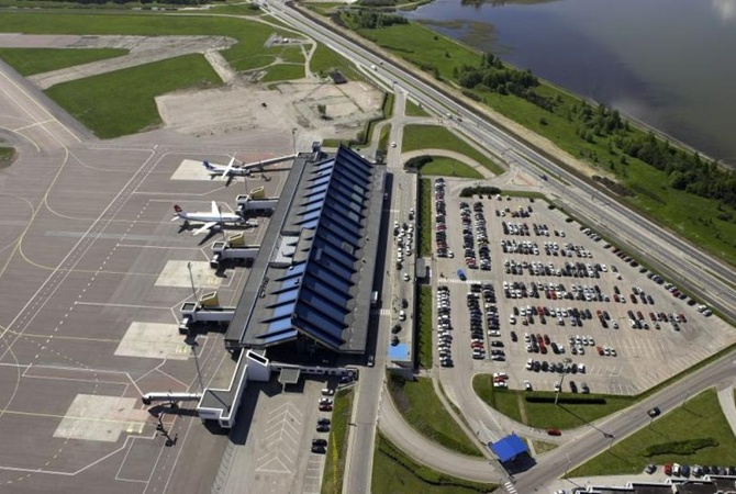 Аэропорт Таллинна был эвакуирован из-за ложного сообщения овзрывном устройстве