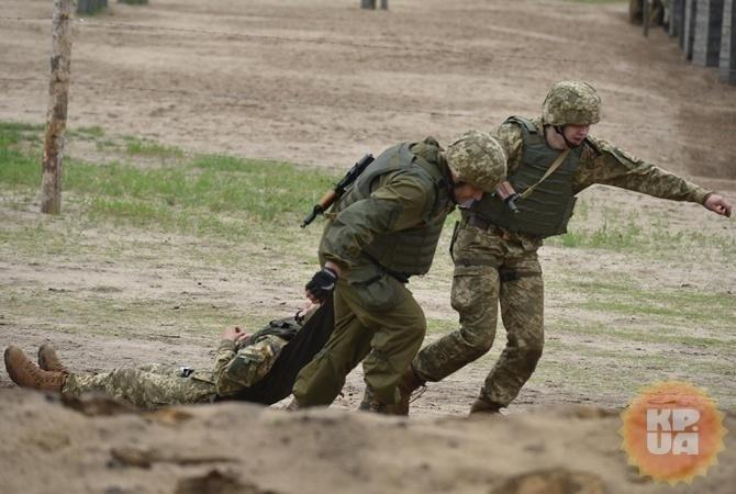 Штаб АТО: Вбоях навостоке государства Украины умер военный, двое ранены