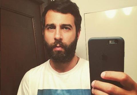 Иван Ургант отрастил густую бороду