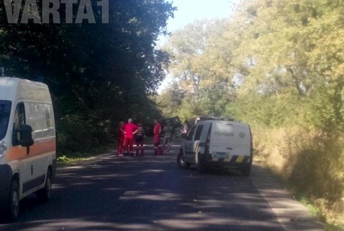 ВНацполиции назвали вероятную причину подрыва иобстрела авто под Львовом