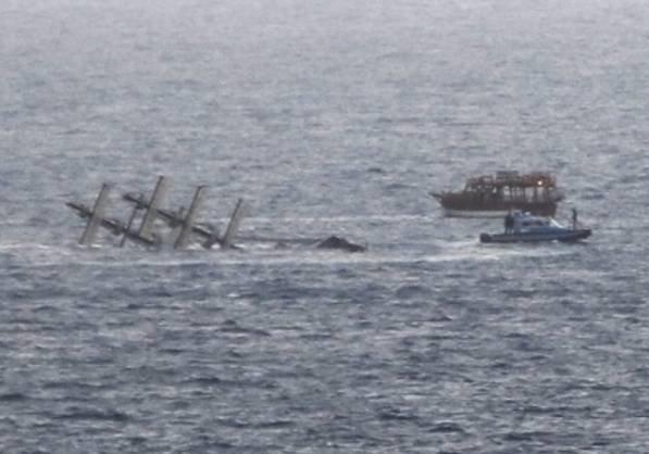 33 человека пострадали в итоге опрокидывания туристического судна вТурции