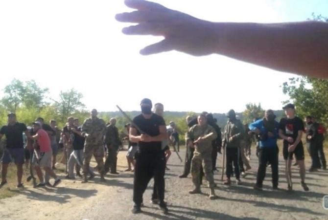 Массовое побоище сострельбой разгорелось вОдесской области: появились фото