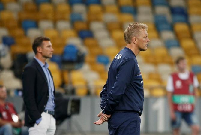 «Исландия»: Когда игде смотреть матч «Украина»