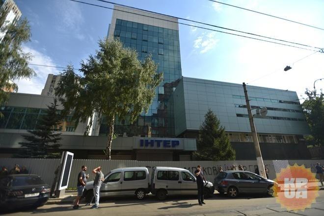 «Интер»: ситуация сблокированием здания канала критическая