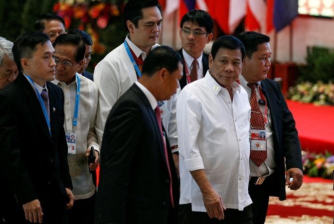 Обама встретился соскорбившим его президентом Филиппин