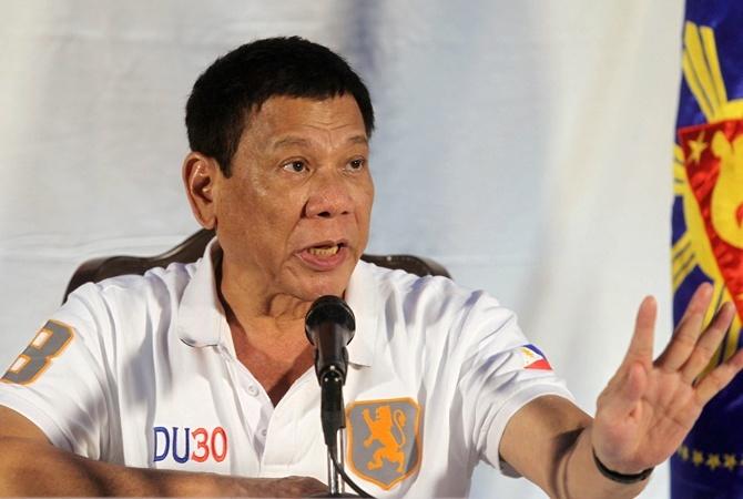 Обама встретился спроклявшим его президентом Филиппин