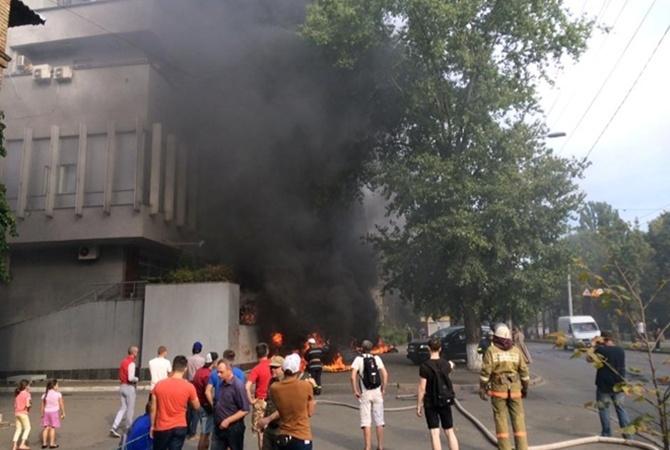 Оппоблок обвинил Авакова впричастности кнападению на«Интер»