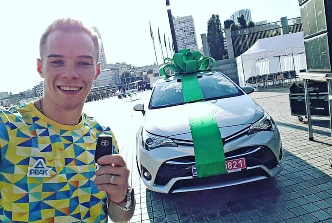 Олимпийские чемпионы Чебан иВерняев получили ценные подарки