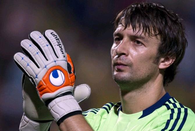 Шовковский— 2-ой врейтинге самых возрастных игроков Лиги чемпионов