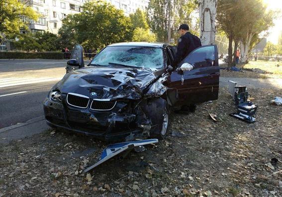 ВНиколаеве водитель BMW сбил насмерть 4 дорожных рабочих