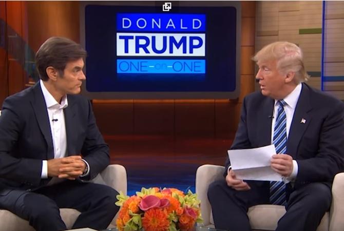 Трамп сказал корреспондентам результаты своего медицинского обследования