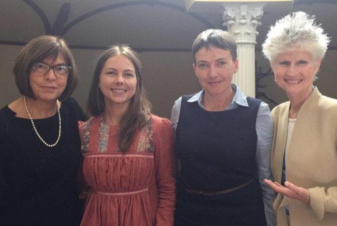 Стало известно, когда Савченко прекратила голодовку
