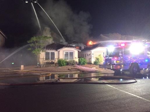 Самолет упал нажилой дом вамериканском Финиксе