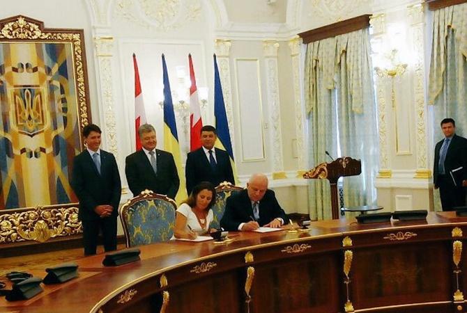 Руководство Канады внесло впарламент соглашение освободной торговле с государством Украина,— Шевченко