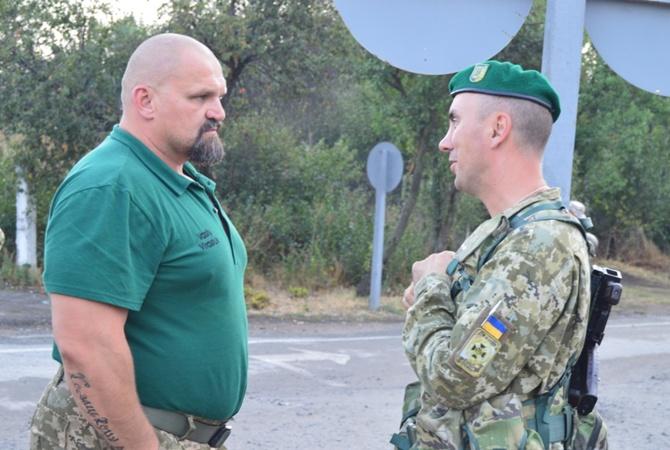 Вгостях у таможенников наХерсонщине побывал Василий Вирастюк