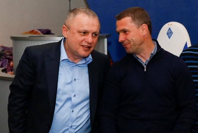 «Пусть провал»: Суркис установил точку вуходе Реброва из«Динамо»