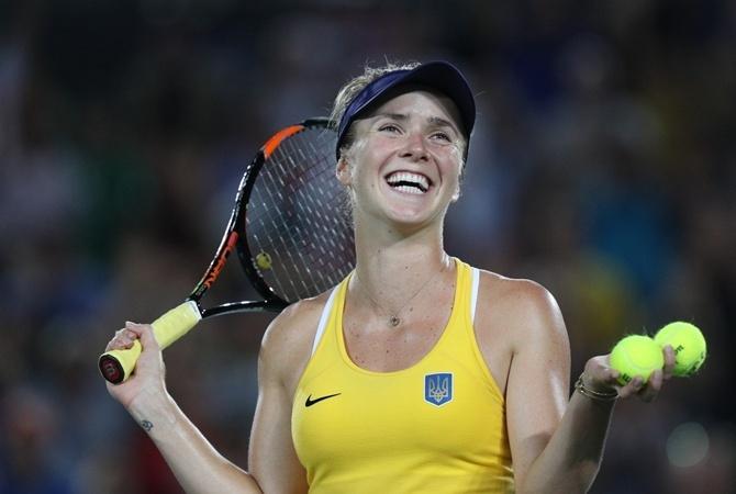 Украинская теннисистка Свитолина одолела россиянку впоединке зачетвертьфинал турнира вЯпонии