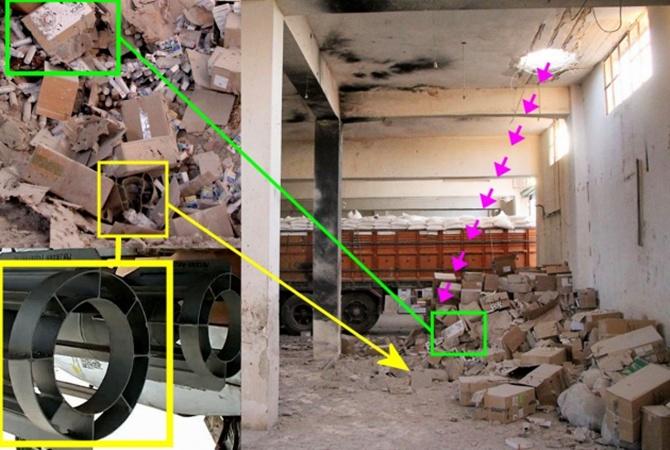 Bellingcat: Гумконвой Красного Креста вСирии обстреляли бомбами производстваРФ