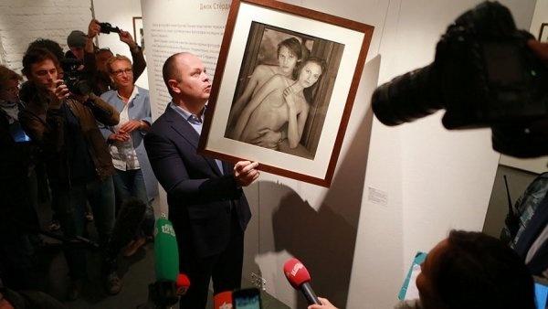 Юзеры фейсбук поддержали выставку Стерджеса флешмобом